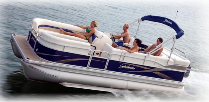 Adventure Pontoon  Power Boat Rentals in Destin, Florida 32541